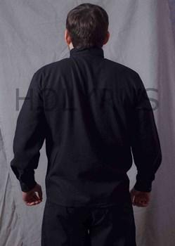 Рубаха Holyrus Православная с манжетами и вышивкой - вид сзади