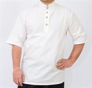 Рубаха Holyrus с коротким рукавом белая